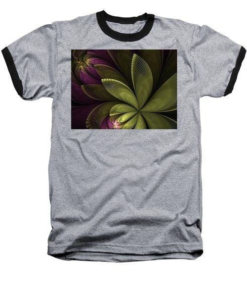 Baseball T-Shirt featuring the digital art Autumn Plant II by Gabiw Art