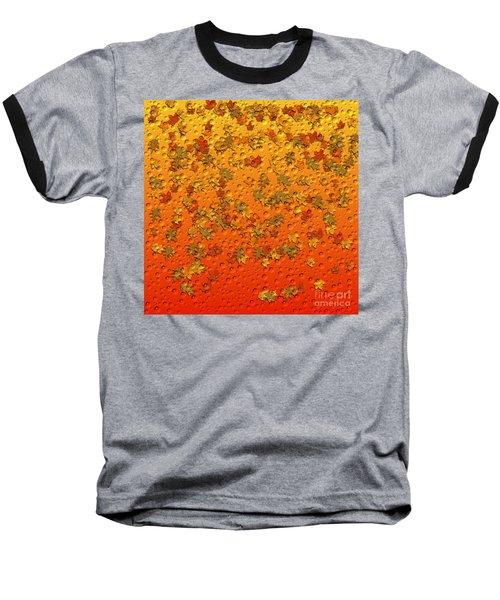 Autumn Rain Baseball T-Shirt
