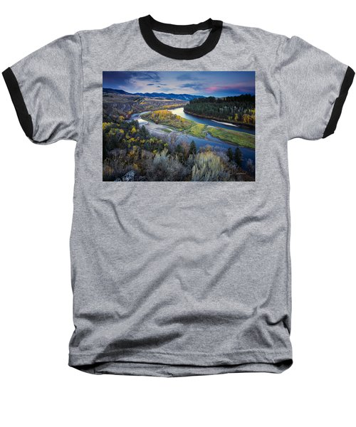 Autumn River Baseball T-Shirt