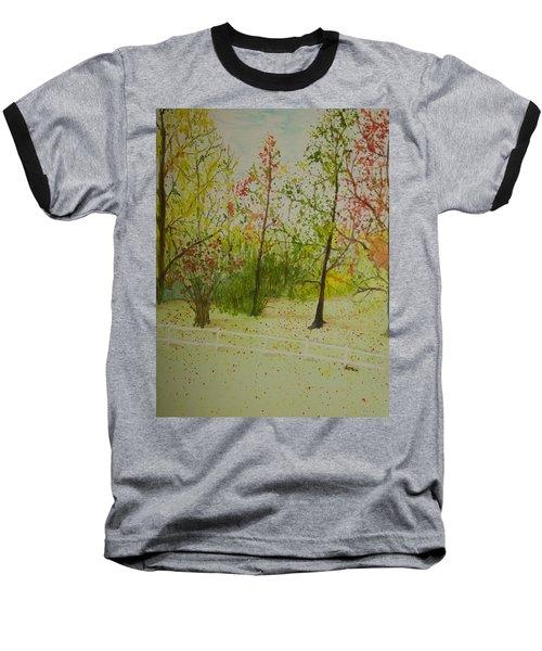 Autumn Scenery Baseball T-Shirt