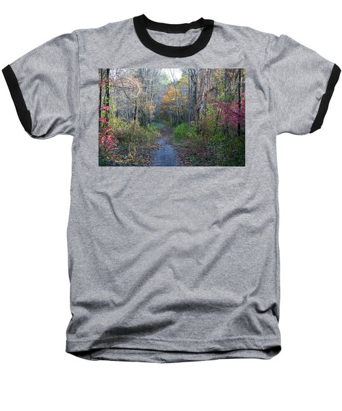 Autumn Silence No.2 Baseball T-Shirt