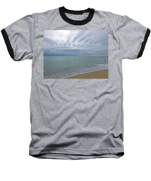 Autumn Clouds Baseball T-Shirt