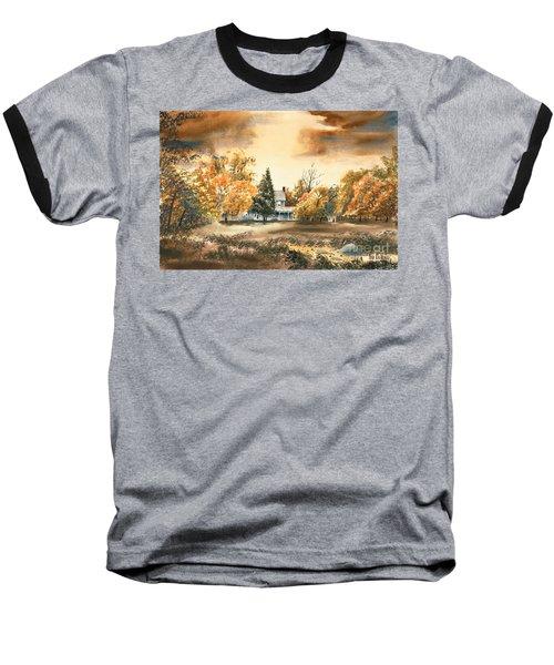 Autumn Sky No W103 Baseball T-Shirt
