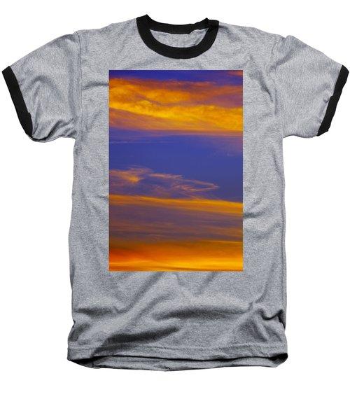 Autumn Sky Portrait Baseball T-Shirt