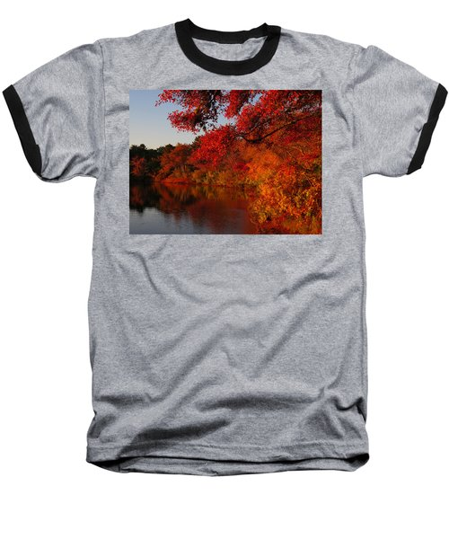 Autumn Splendor  Baseball T-Shirt by Dianne Cowen