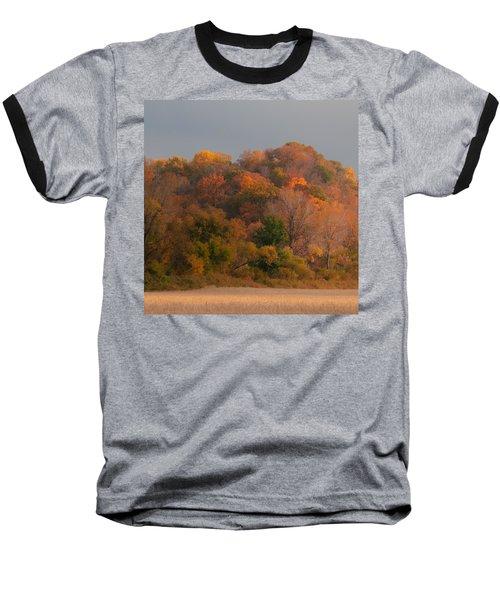 Autumn Splendor Baseball T-Shirt by Don Spenner