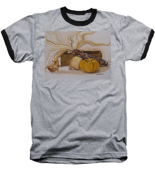 Autumn Still Life Baseball T-Shirt