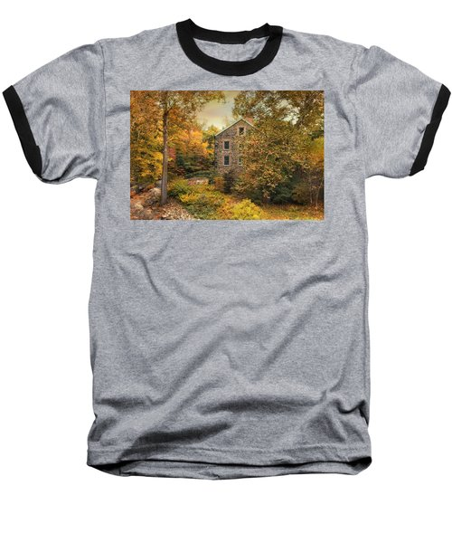 Autumn Stone Mill Baseball T-Shirt