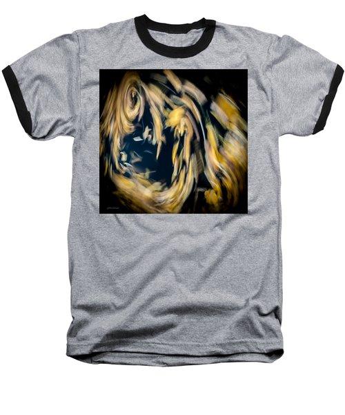 Autumn Storm Baseball T-Shirt by Steven Milner