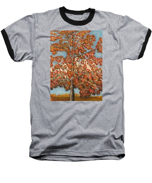Autumn Tree Baseball T-Shirt
