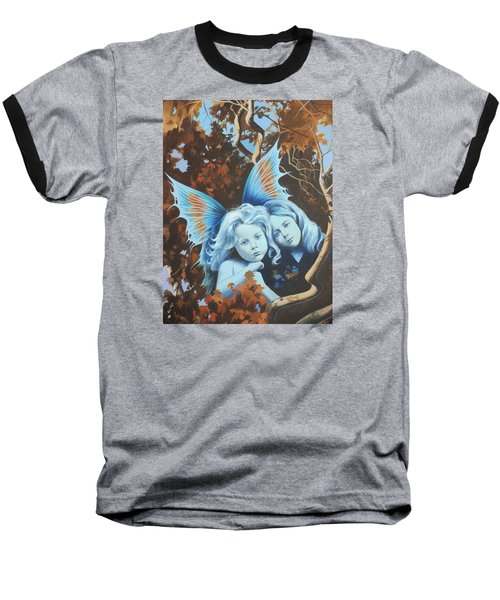 Autumn Turning. Baseball T-Shirt by Vivien Rhyan