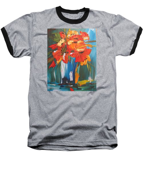 Autumn Vase Baseball T-Shirt