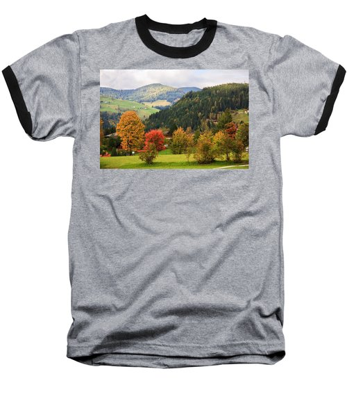 Autumnal Colours In Austria Baseball T-Shirt
