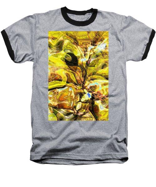 Autumn's Bones Baseball T-Shirt by Richard Thomas