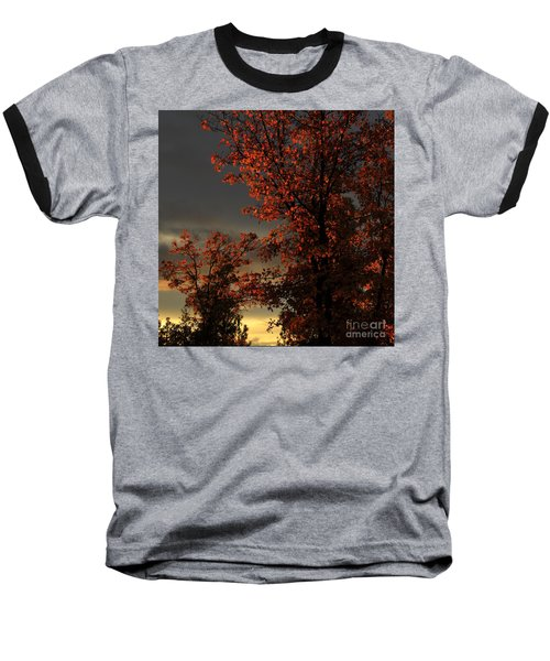 Autumn's First Light Baseball T-Shirt