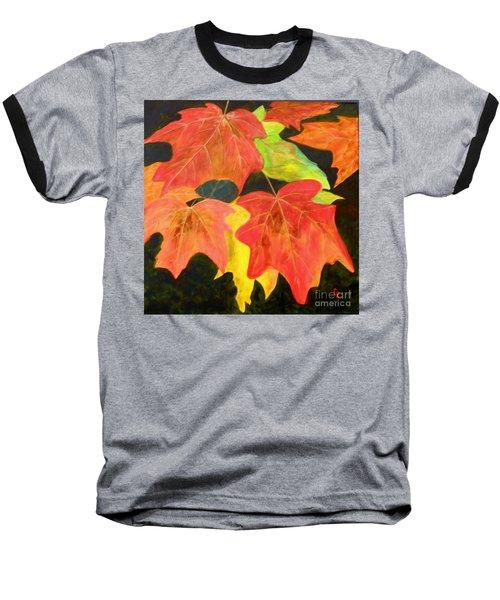 Autumn's Glow  Baseball T-Shirt
