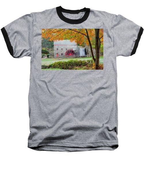 Auutmn At The Grist Mill Baseball T-Shirt