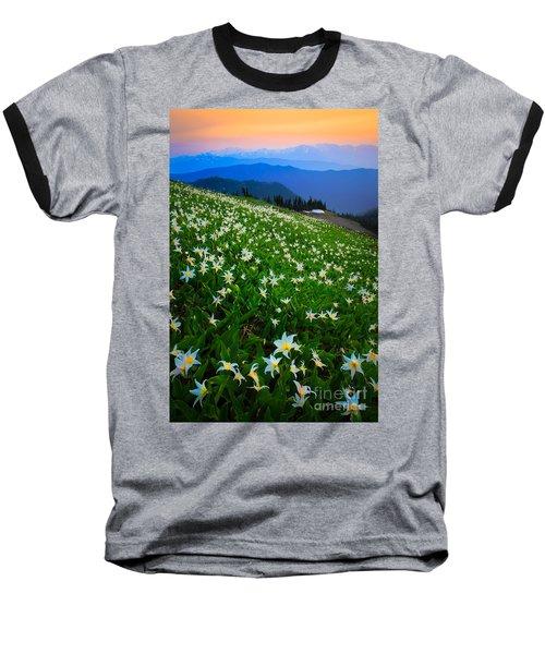 Avalanche Lily Field Baseball T-Shirt