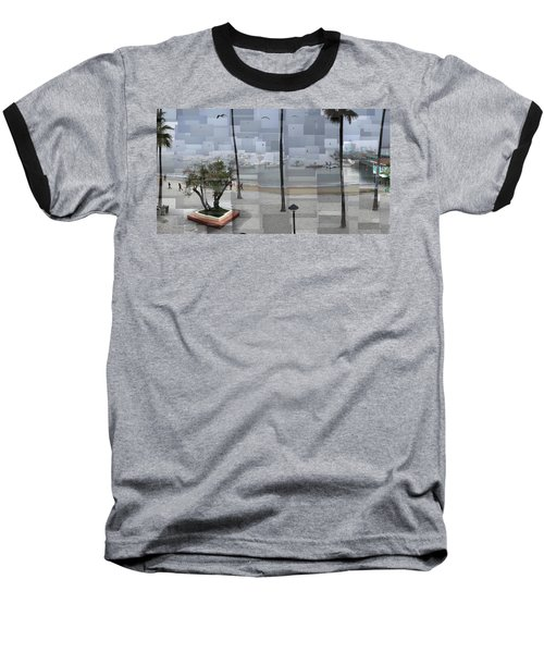 Avalon Fog Baseball T-Shirt