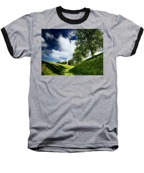 Avebury Hillside Baseball T-Shirt