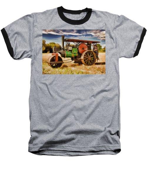 Aveling Porter Road Roller Baseball T-Shirt