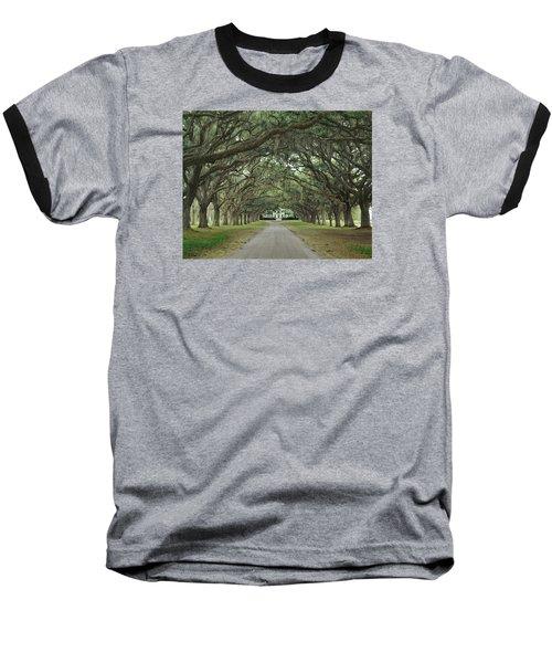 147706-avenue Of The Oaks  Baseball T-Shirt