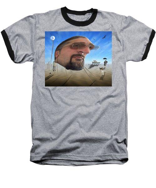 Awake . . A Sad Existence Baseball T-Shirt by Mike McGlothlen