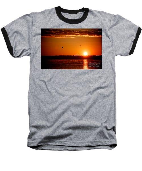Awakening Sun Baseball T-Shirt