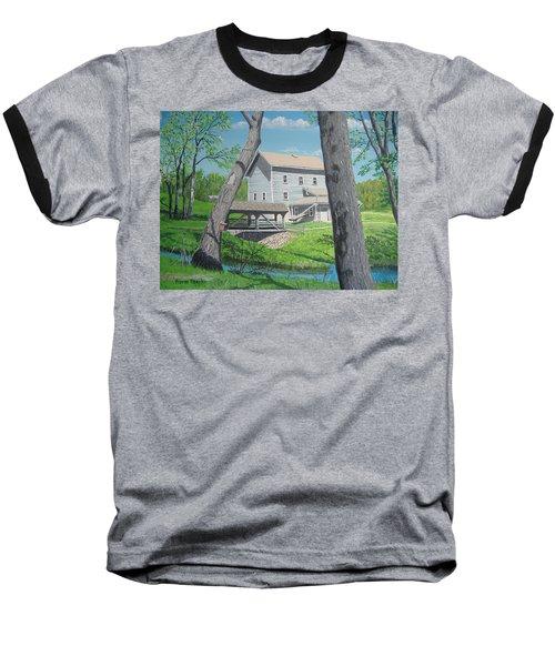 Award-winning Painting Of Beckman's Mill Baseball T-Shirt by Norm Starks