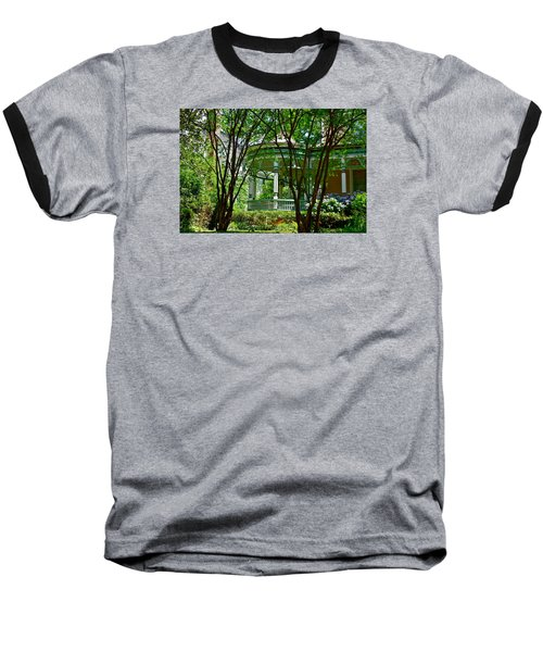 Awesome Victorian Porch Baseball T-Shirt