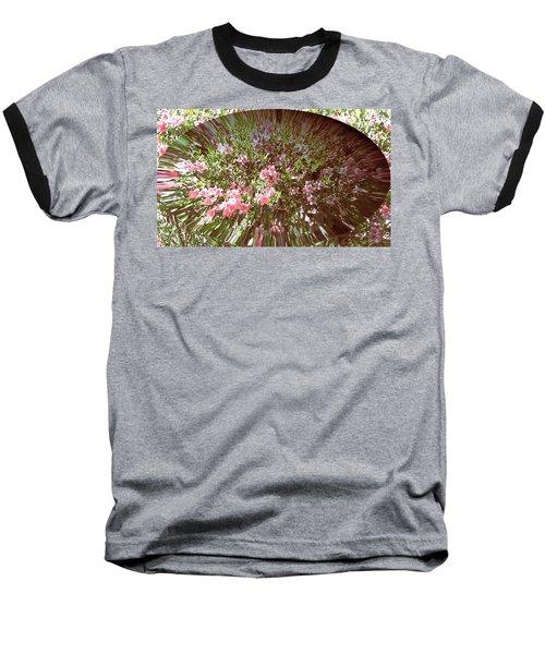 Azalea Bouquet Baseball T-Shirt by Pamela Hyde Wilson