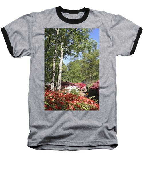 Azalea Flowers Baseball T-Shirt