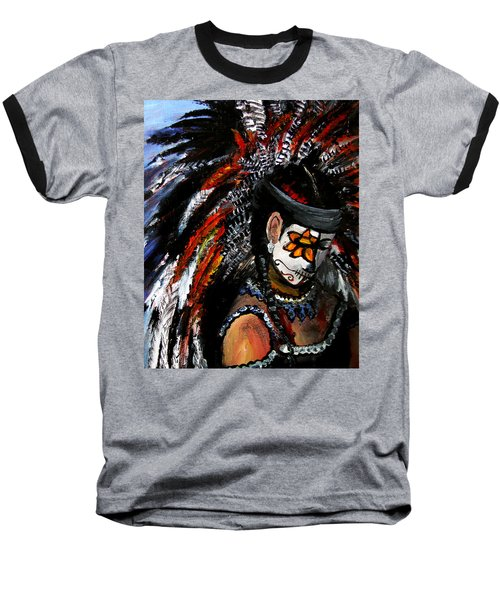 Aztec Celebration Baseball T-Shirt