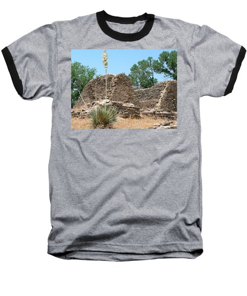 Aztec Ruins National Monument Baseball T-Shirt