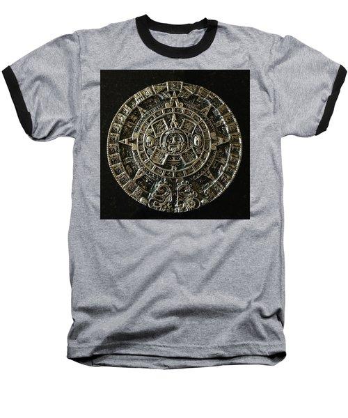 Aztec Baseball T-Shirt by Julio Lopez