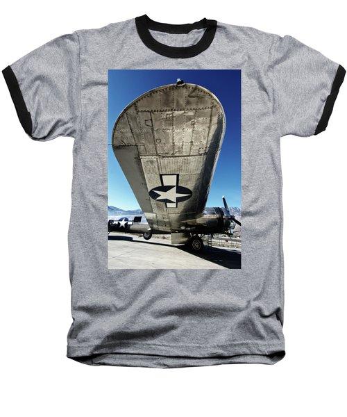 B 17 Sentimental Journey Baseball T-Shirt