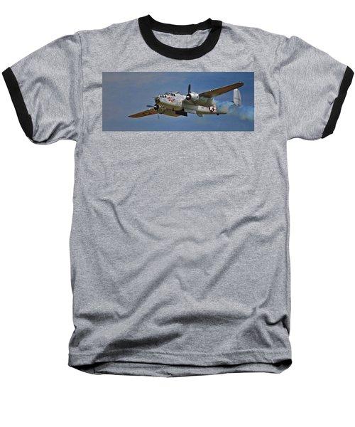 B-25 Take-off Time 3748 Baseball T-Shirt