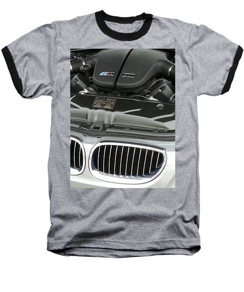 B M W M5 V10 Motor Baseball T-Shirt