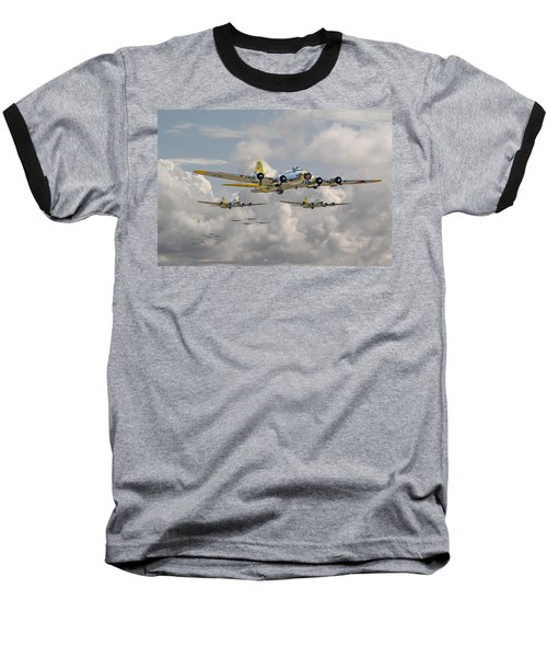 B17 486th Bomb Group Baseball T-Shirt