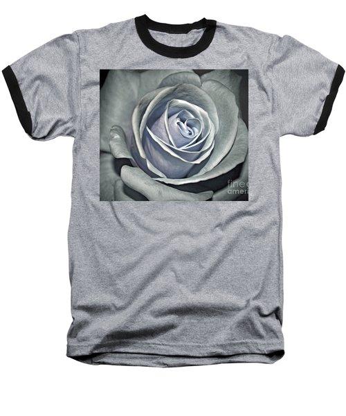 Baseball T-Shirt featuring the photograph Baby Blue Rose by Savannah Gibbs