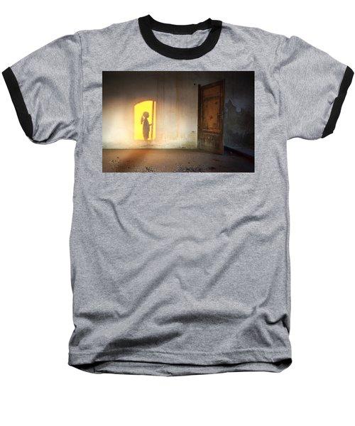 Baby Do Not Open That Door Baseball T-Shirt