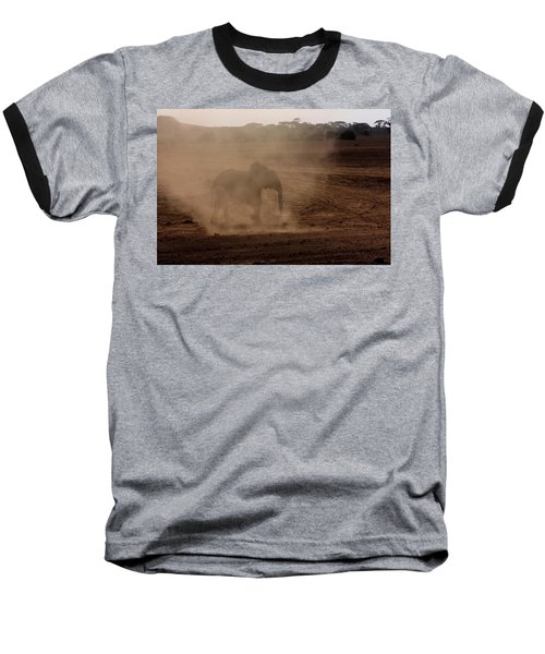 Baseball T-Shirt featuring the photograph Baby Elephant  by Amanda Stadther