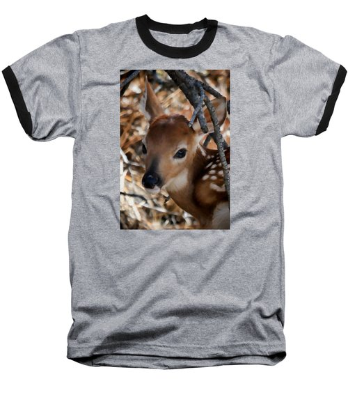 Baby Face Fawn Baseball T-Shirt