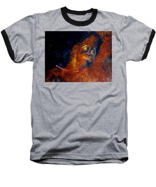 Baby Orangatan Baseball T-Shirt