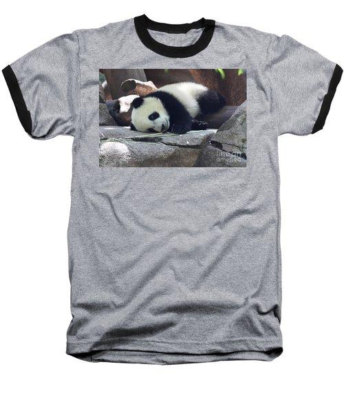 Baby Panda Baseball T-Shirt