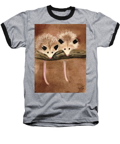 Baby Possums Baseball T-Shirt