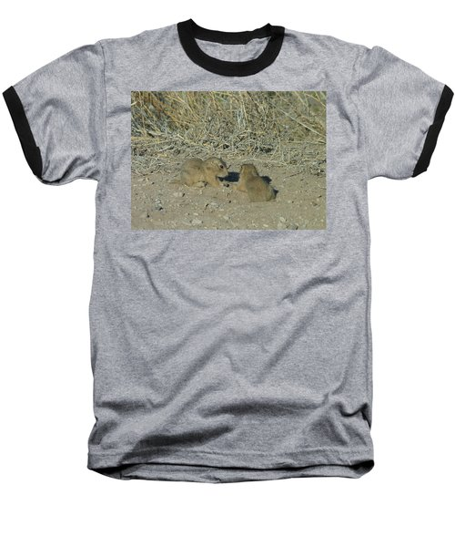Baby Prairie Dog Baseball T-Shirt