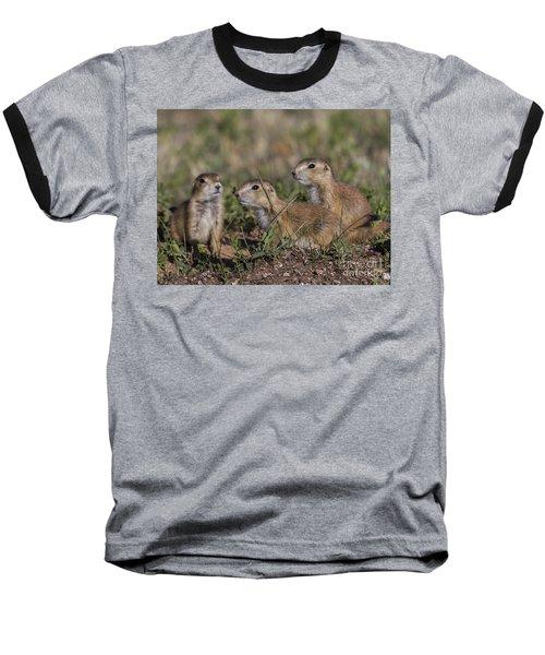 Baby Prairie Dogs Baseball T-Shirt