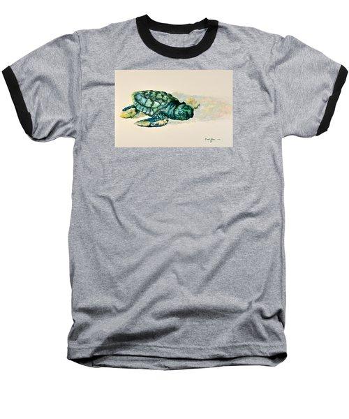 Da150 Baby Sea Turtle By Daniel Adams  Baseball T-Shirt