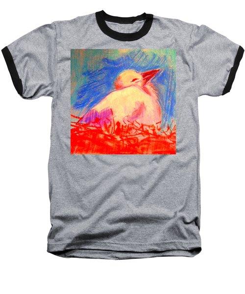 Baby Stork Baseball T-Shirt